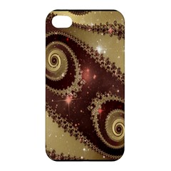 Space Fractal Abstraction Digital Computer Graphic Apple Iphone 4/4s Hardshell Case by Simbadda