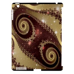 Space Fractal Abstraction Digital Computer Graphic Apple Ipad 3/4 Hardshell Case (compatible With Smart Cover) by Simbadda