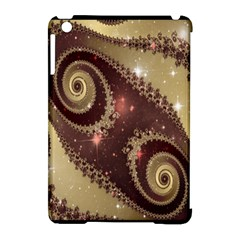Space Fractal Abstraction Digital Computer Graphic Apple Ipad Mini Hardshell Case (compatible With Smart Cover) by Simbadda
