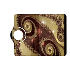Space Fractal Abstraction Digital Computer Graphic Kindle Fire Hd (2013) Flip 360 Case by Simbadda
