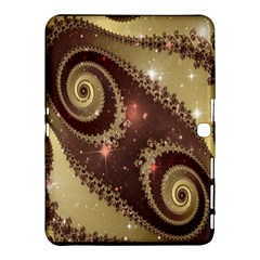 Space Fractal Abstraction Digital Computer Graphic Samsung Galaxy Tab 4 (10 1 ) Hardshell Case