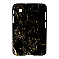 Golden Bows And Arrows On Black Samsung Galaxy Tab 2 (7 ) P3100 Hardshell Case  by Simbadda