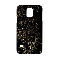 Golden Bows And Arrows On Black Samsung Galaxy S5 Hardshell Case  by Simbadda