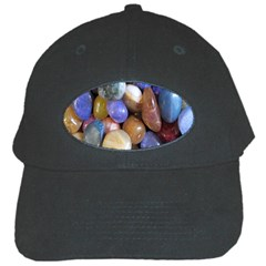 Rock Tumbler Used To Polish A Collection Of Small Colorful Pebbles Black Cap by Simbadda