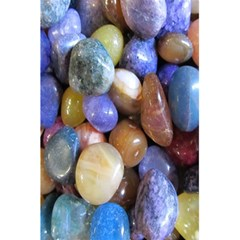 Rock Tumbler Used To Polish A Collection Of Small Colorful Pebbles 5 5  X 8 5  Notebooks by Simbadda
