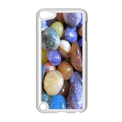 Rock Tumbler Used To Polish A Collection Of Small Colorful Pebbles Apple Ipod Touch 5 Case (white) by Simbadda