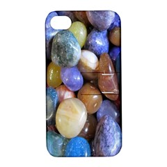 Rock Tumbler Used To Polish A Collection Of Small Colorful Pebbles Apple Iphone 4/4s Hardshell Case With Stand by Simbadda