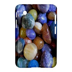 Rock Tumbler Used To Polish A Collection Of Small Colorful Pebbles Samsung Galaxy Tab 2 (7 ) P3100 Hardshell Case  by Simbadda