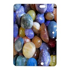 Rock Tumbler Used To Polish A Collection Of Small Colorful Pebbles Kindle Fire Hdx 8 9  Hardshell Case by Simbadda