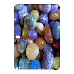 Rock Tumbler Used To Polish A Collection Of Small Colorful Pebbles Samsung Galaxy Tab Pro 12 2 Hardshell Case by Simbadda