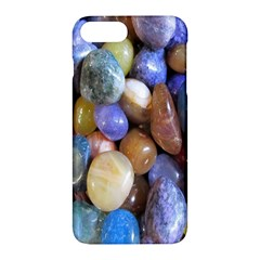 Rock Tumbler Used To Polish A Collection Of Small Colorful Pebbles Apple Iphone 7 Plus Hardshell Case by Simbadda