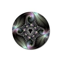 Magic Swirl Magnet 3  (round) by Simbadda