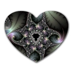 Magic Swirl Heart Mousepads by Simbadda