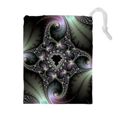 Magic Swirl Drawstring Pouches (extra Large) by Simbadda