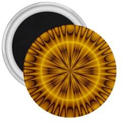 Fractal Yellow Kaleidoscope Lyapunov 3  Magnets by Simbadda