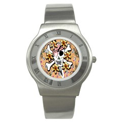Banner Header Tapete Stainless Steel Watch by Simbadda