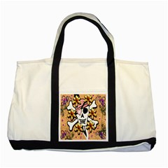Banner Header Tapete Two Tone Tote Bag by Simbadda
