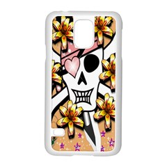Banner Header Tapete Samsung Galaxy S5 Case (white) by Simbadda