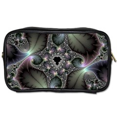 Precious Spiral Wallpaper Toiletries Bags 2 Side by Simbadda