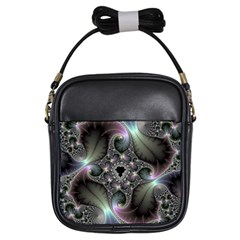 Precious Spiral Wallpaper Girls Sling Bags by Simbadda