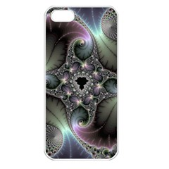 Precious Spiral Wallpaper Apple Iphone 5 Seamless Case (white) by Simbadda