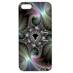 Precious Spiral Wallpaper Apple Iphone 5 Hardshell Case With Stand by Simbadda