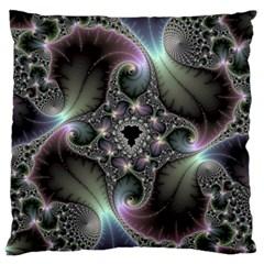 Precious Spiral Wallpaper Large Flano Cushion Case (two Sides) by Simbadda