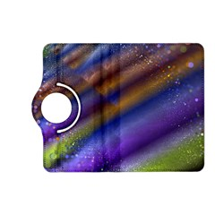 Fractal Color Stripes Kindle Fire Hd (2013) Flip 360 Case by Simbadda