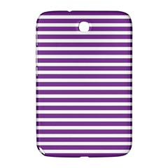 Horizontal Stripes Purple Samsung Galaxy Note 8 0 N5100 Hardshell Case