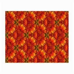 Background Flower Fractal Small Glasses Cloth by Simbadda