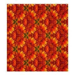 Background Flower Fractal Shower Curtain 66  X 72  (large)  by Simbadda