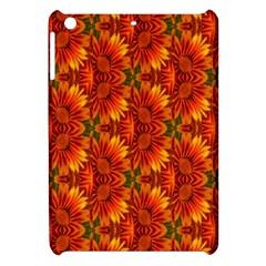 Background Flower Fractal Apple Ipad Mini Hardshell Case by Simbadda