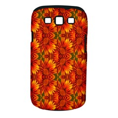 Background Flower Fractal Samsung Galaxy S Iii Classic Hardshell Case (pc+silicone) by Simbadda