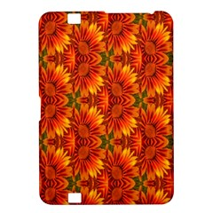 Background Flower Fractal Kindle Fire Hd 8 9  by Simbadda