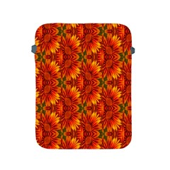 Background Flower Fractal Apple Ipad 2/3/4 Protective Soft Cases by Simbadda