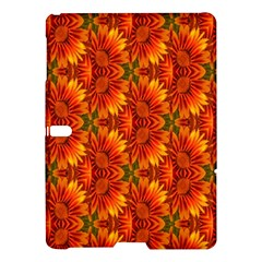 Background Flower Fractal Samsung Galaxy Tab S (10 5 ) Hardshell Case  by Simbadda