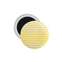 Horizontal Stripes Yellow 1 75  Magnets by Mariart