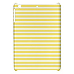 Horizontal Stripes Yellow Apple Ipad Mini Hardshell Case