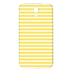 Horizontal Stripes Yellow Samsung Galaxy Mega I9200 Hardshell Back Case