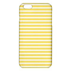 Horizontal Stripes Yellow Iphone 6 Plus/6s Plus Tpu Case