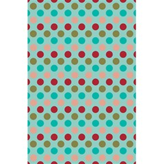 Large Colored Polka Dots Line Circle 5 5  X 8 5  Notebooks by Mariart