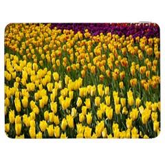 Colorful Tulips In Keukenhof Gardens Wallpaper Samsung Galaxy Tab 7  P1000 Flip Case