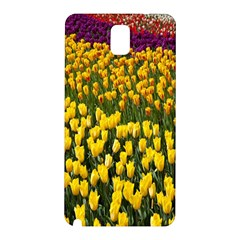 Colorful Tulips In Keukenhof Gardens Wallpaper Samsung Galaxy Note 3 N9005 Hardshell Back Case by Simbadda