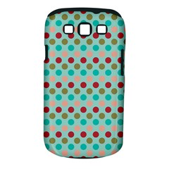 Large Colored Polka Dots Line Circle Samsung Galaxy S Iii Classic Hardshell Case (pc+silicone)