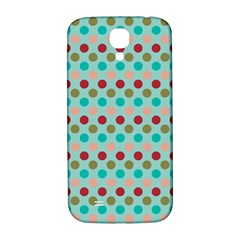 Large Colored Polka Dots Line Circle Samsung Galaxy S4 I9500/i9505  Hardshell Back Case