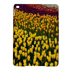 Colorful Tulips In Keukenhof Gardens Wallpaper Ipad Air 2 Hardshell Cases by Simbadda