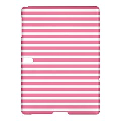 Horizontal Stripes Light Pink Samsung Galaxy Tab S (10 5 ) Hardshell Case  by Mariart