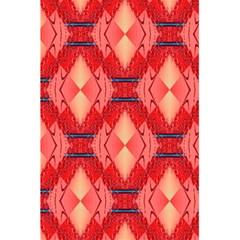 Orange Fractal Background 5 5  X 8 5  Notebooks by Simbadda