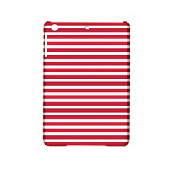 Horizontal Stripes Red Ipad Mini 2 Hardshell Cases by Mariart