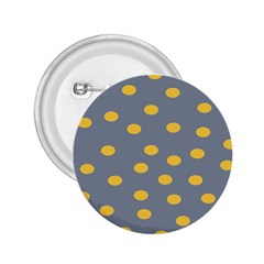 Limpet Polka Dot Yellow Grey 2 25  Buttons by Mariart